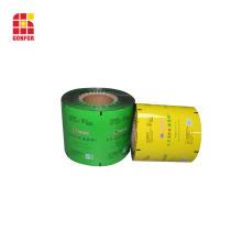 Película de envasado multicapa de alta barrera para alimentos