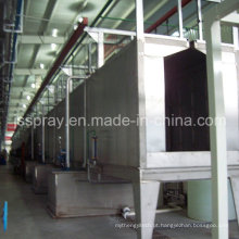 Auto / máquina de revestimento manual do pó / linha / equipamento para o elevador, chapa metálica