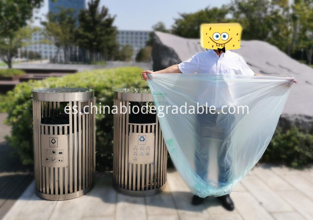 Tear Resistant Waterproof Compost Plastic Bag