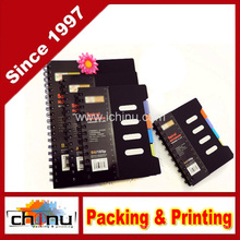 Cuaderno de espiral Easypag 105 hojas, etiqueta de colores de 4 sujetos (520038)