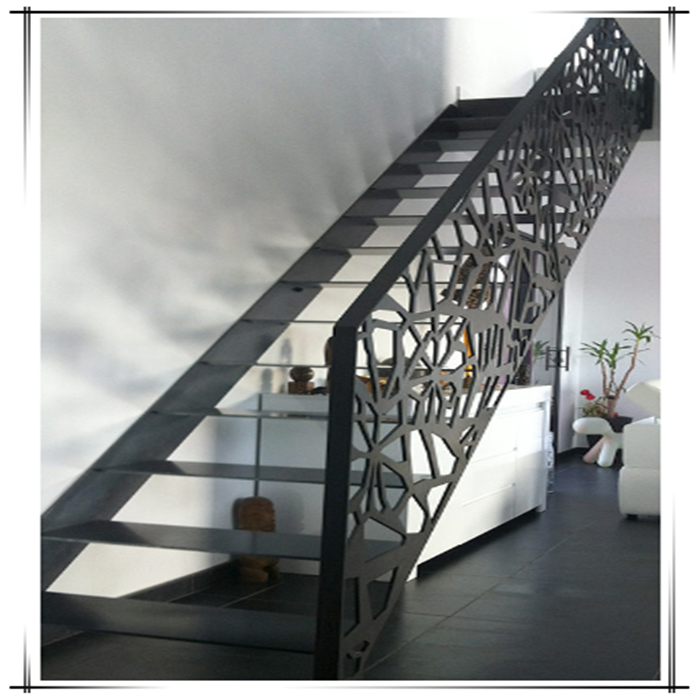 Laser Cut Metal Railings