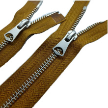 Cheap customized slider zippers pull zipper head with high quality