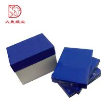 Professional manufacture newest square paper blue box