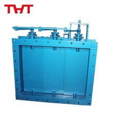 Square Louver Type Electric Modulating Damper Valves