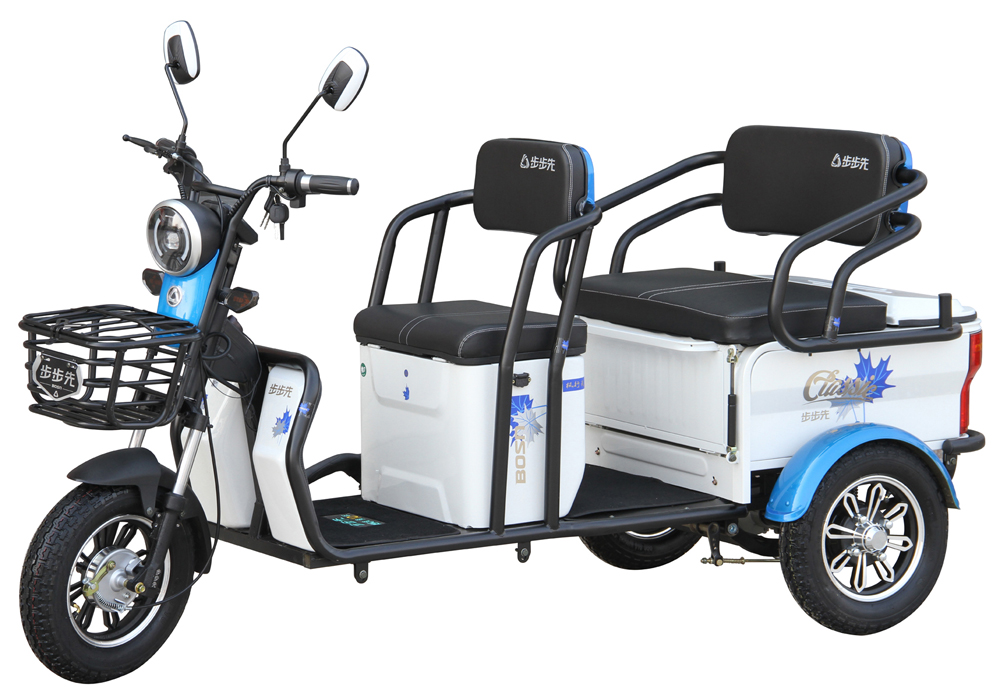 electric rickshaw design