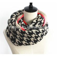 Hombres Mujeres Otoño / Invierno Acrylic hecho punto bufanda gaiter