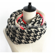 Men Women Fall/Winter Knitted Acrylic neck gaiter scarf