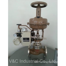 Válvula de Controle de Globo Elétrica / Válvula de Controle Automática para Fluidos e Gás