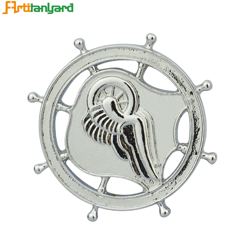 Zinc Alloy Badge For Souvenir