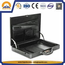 Алюминиевый кейс с деловыми карманами (гл-2506)