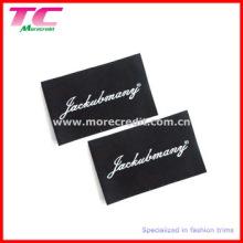 Custom High Quality Damask Woven Label for Garment