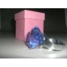 Anneaux de serviette en cristal de mode désherbage cadeau (JD-CJ-501)