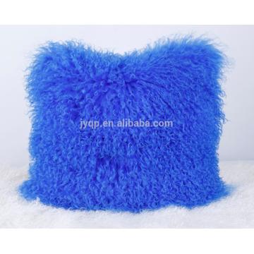 oreiller de laine de mouton mongol classique
