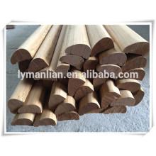Carcasa decorativa Adornos de pared de madera base imprimada calzado moldeado moldeado decorativo de madera artesanal