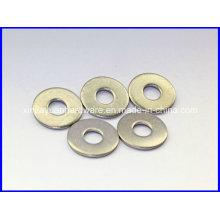Rondelle plate à revêtement au zinc