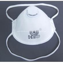 Máscara de copa N95 automática después del proceso que hace la máquina