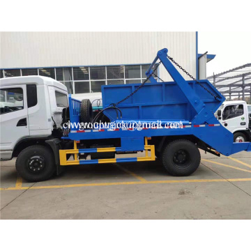 Cheap Swing arms garbage truck with box
