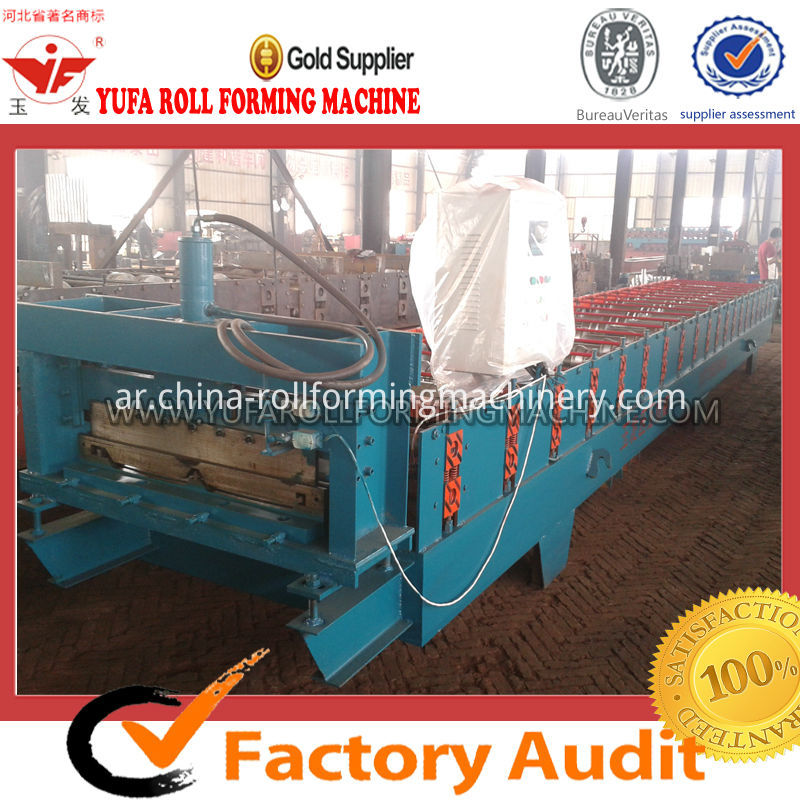 820JCX Roof sheet roll forming machine