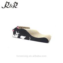 HOT Wholesale lovely pet bed corrugated cardboard cat scratchers CS-6001