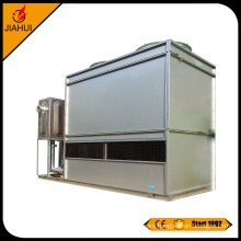 Closed counter flow cooling tower for water treatment