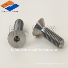 titanium countersunk head bolt