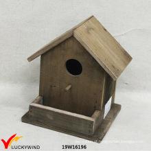 Antigo, natural, madeira, antiquado, decorativo, escolha, birdhouse