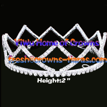 2inch Full Round Pageant Crowns