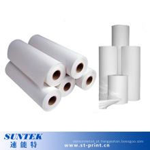 Papel de sublimação de rolo para impressão por transferência por sublimação (21cm * 100m)