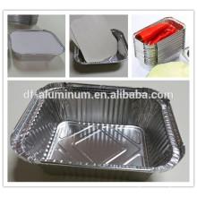 Aluminium stabile Pfannen mittelgroß
