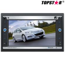 Lecteur DVD de voiture double DIN 2DIN de 6,2 pouces avec système Android Ts-2014-1