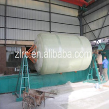 FRP horizontal and vertical tank vessel filament winding machine