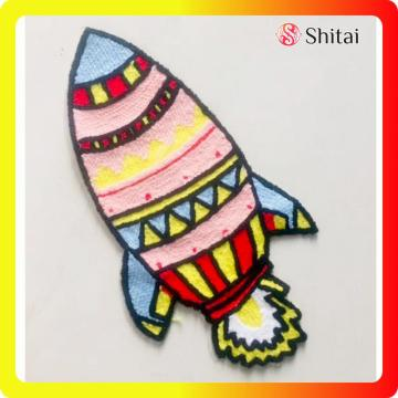 ชื่อโลโก้ patch paper backing embroidery patch l