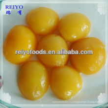 Персики консервированные