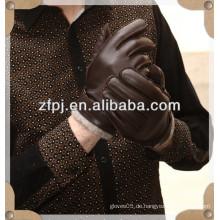 Hochwertiger Hirschlederhandschuh im Kaschmirfutter