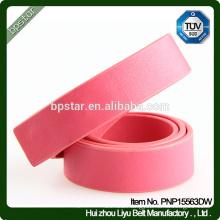 PU Women Belt Red Cintos for Female Lady Jeans Dress Straps Fashion Ceinture