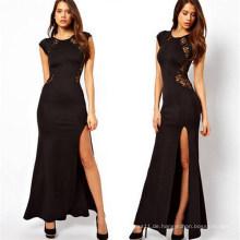 Neueste Abnehmen Sexy Long Maxi Lace Kleid Kleid