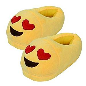Emoji Red Heart Slippers