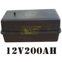 200A Bateria Solar Caixa de terra Caixa de bateria solar impermeável subterrânea