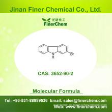 Cas 3652-90-2 | 2-Bromocarbazol | OLED intermedio | 3652-90-2 | precio de fábrica; Gran stock