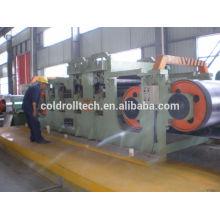 Moinho de rolo reversível a frio para tiras de aço, aço carbono / aço inoxidável / alumínio, etc