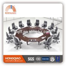 Cadre moderne d'acier inoxydable de table de conférence HT-05 pour des tables rondes de conférence à vendre