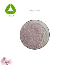 Extractos de plantas Extracto de Sakura Extracto de flor de cerezo en polvo