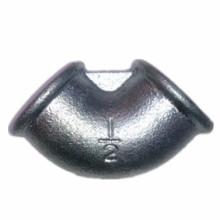 "1/2 ""Beaded galvanizado cotovelo maleável ferro Pipe Fittings"