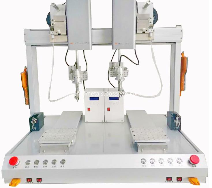 Automatic USB connector soldering Machine robotic wire welding equipment1