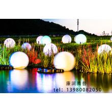 Éclairage de jardin scénique de parc lumineux à LED