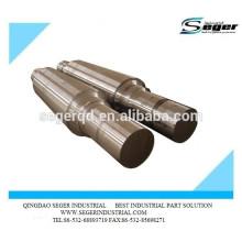 Pièce forgéee de haute qualité / essieu d'axe en acier forgé
