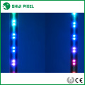 música activada RGB dmx led tubes 3D meteor luz para club, iluminación escénica