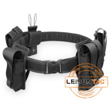 Tactical Belt with Pouches adopts 1000D Nylon with different pouches for multifunction