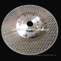 Lâmina do disco do diamante das ferramentas de corte do granito do mármore de 230mm com flange