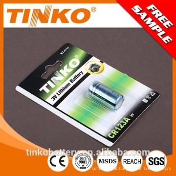 Intercambiável bateria CR2 CR123A em Shenzhen
